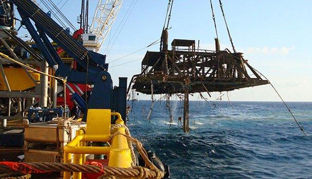 Resultado de imagem para descomissionamento para plataformas offshore