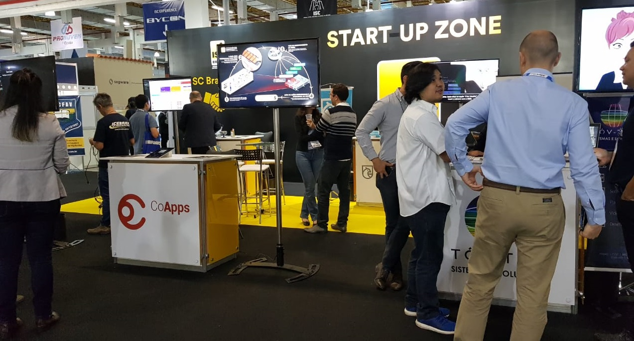 startup zone isc brasil 2019