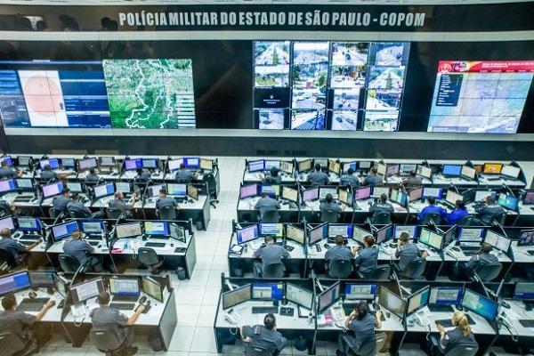 O governador do Estado de São Paulo, Dr. Geraldo Alckmin anunciou a expansão do Sistema Detecta na sede do COPOM - Centro de Operações da Polícia Militar. Local: São Paulo/SP. Data: 18/10/2016. Foto: Alexandre Carvalho/A2img