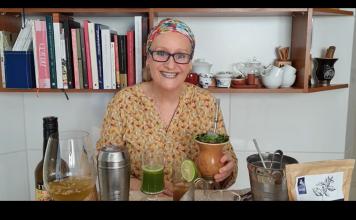 Carla Saueressig fala sobre drinks com erva-mate