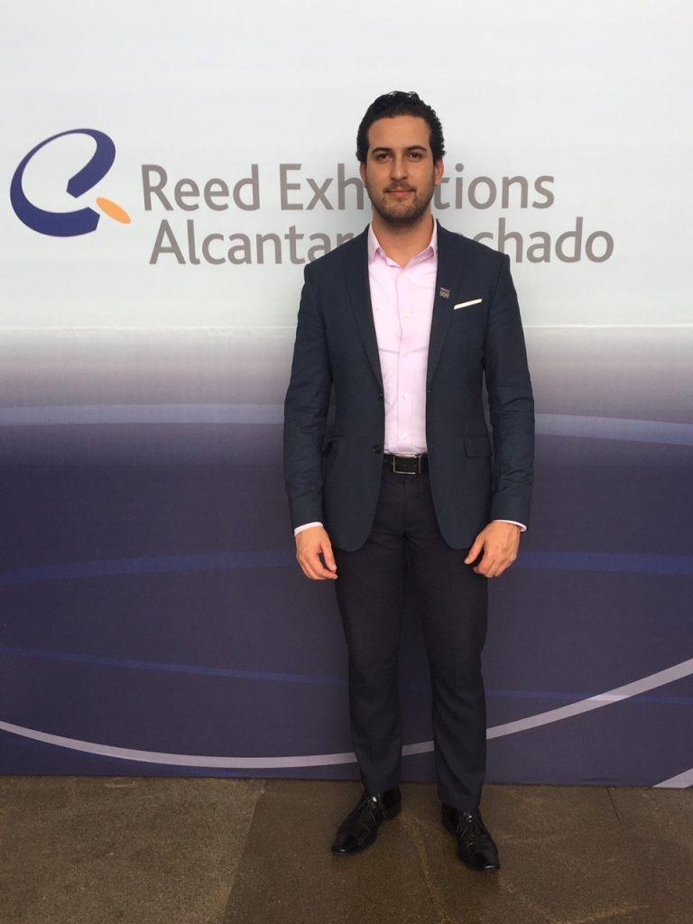 Lucas Reis – Gerente de Operações da Reed Exhibitions - para entrevista sobre a segurança para a BCB SP 2021.