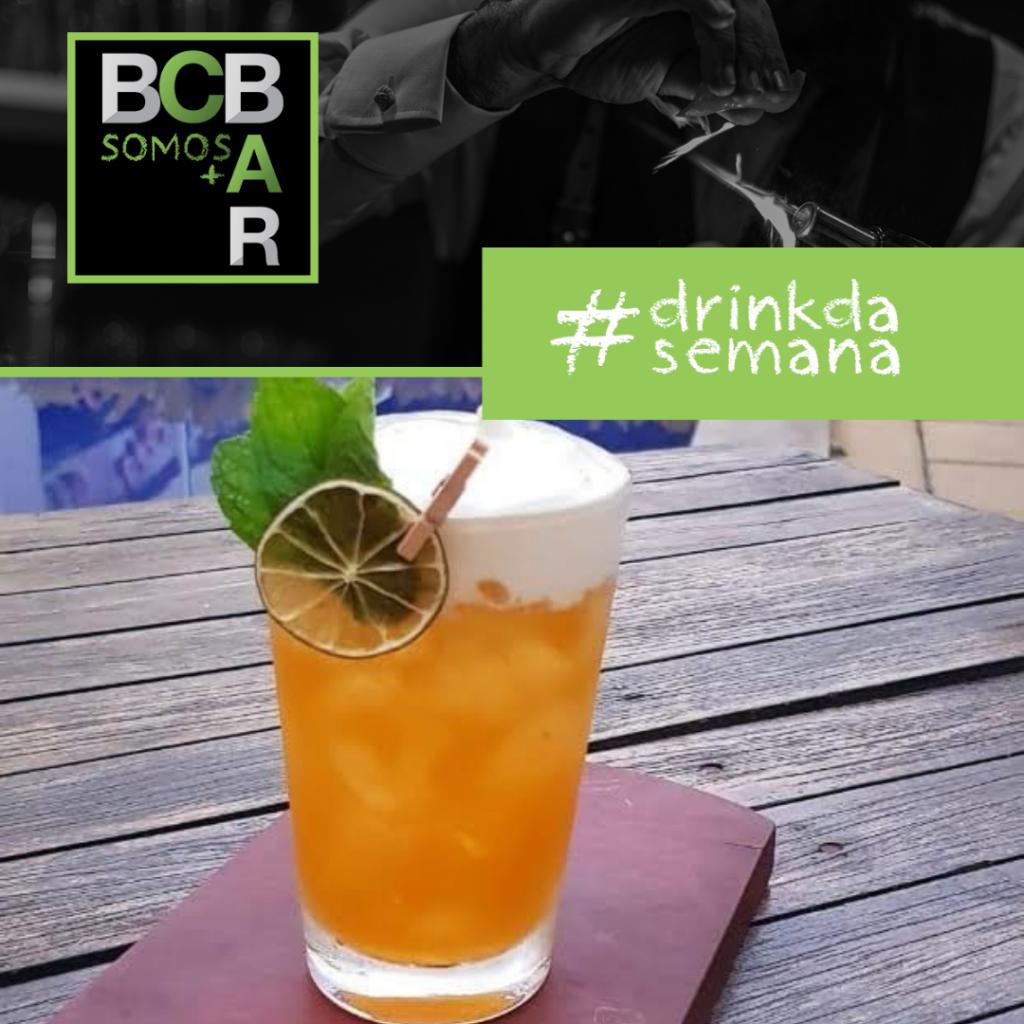 Somos + Bar Maio: drink NOW, criado por Márcio Rodrigues de Rio de Janeiro/RJ